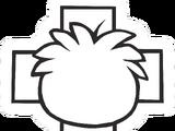 Puffle Medic Pin