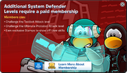 System Defence Membership Error