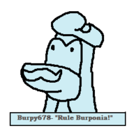 Burpy Monument Paper Weight