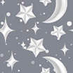 Fabric Moon Stars spin icon