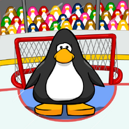 Hockey background from a Player Card