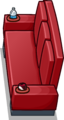 Red Designer Couch sprite 012