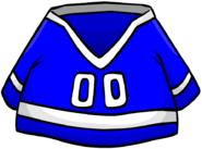 Blue Hockey Jersey clothing icon ID 278