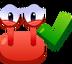 Emoticón de Sí cangrejo