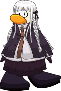 Kyoko Kirigiri Danganronpa Club Penguin
