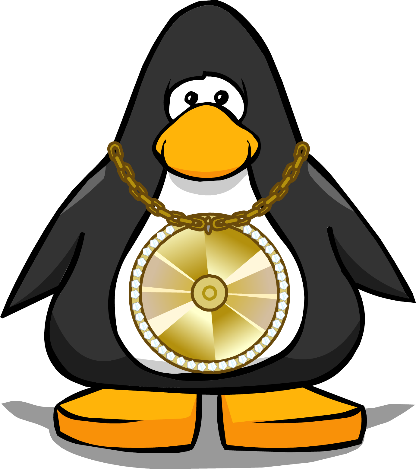bling bling necklace club penguin wiki fandom powered by wikia