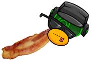 Commancer bacon eeeh