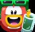 Emoji Summertime Penguin