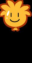 Globo de Puffle Naranja icono
