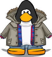 Outdoorsy Jacket from a Player Card