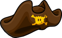 Sombrero de Espadachín Pirata icono
