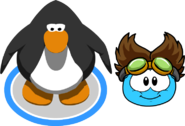 The Rad Scientist (Puffle Hat) In-Game