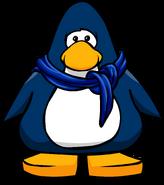 Bufanda Abrigada Azul tarjeta