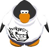 Camiseta de Puffle T Rex sprite