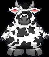 Disfraz de Vaca carta