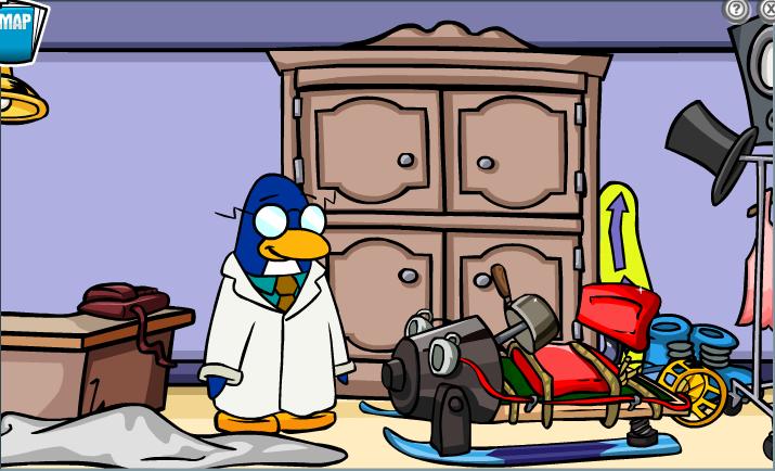 G Club Penguin Wiki PSA Mission 2: G's Sec...