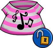 Pop Music Shirt unlockable icon