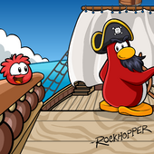 Rockhopper Background photo (ID 9019)