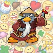 Sensei Emoticons Background
