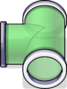 T-joint Puffle Tube sprite 031