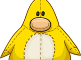 Pingüino de Peluche Amarillo