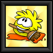 Yellow Puffle Picture sprite 002
