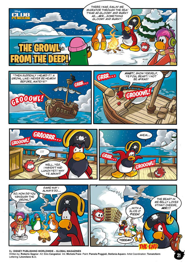 The Growl From The Deep Comic