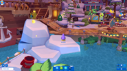 Waddle On Party Boardwalk icebergs 2