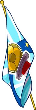 Bandera de la Copa CP icono