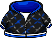 Blue Crosshatch Sweater icon