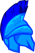 Blue Roman Helmet