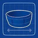 Blueprint Pencil Skirt icon