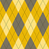 Fabric Argyle Yellow icon