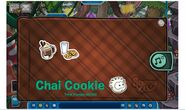 Album de estampillas de Chai Cookie