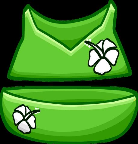 File:Green Flower Bikini clothing icon ID 4097.png