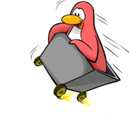 Mine Cart Penguin2