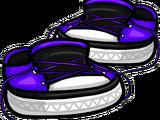 Zapatos Desatados Violetas