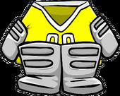 Yellow Goalie Gear icon