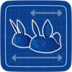Blueprint Fuzzy Slippers icon