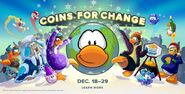 Coins For Change 2014 Wallpaper