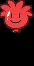 Globo de Puffle Rojo icono