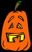 Goofy Jack-O-Lantern