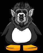 Gray Werewolf Head on Player Card