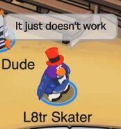 L8tr Skater: Así no funciona