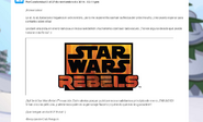 Star Wars Rebels Cadomba