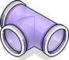 T-joint Puffle Tube sprite 023