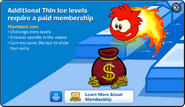 Thin Ice Membership Error