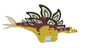 Dino amarillo