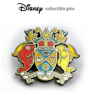 Disney Collectible Pin CPI Coat of arms