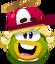 Emoticón de Rookie feliz